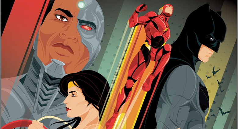 Justice League Regal IMAX Poster