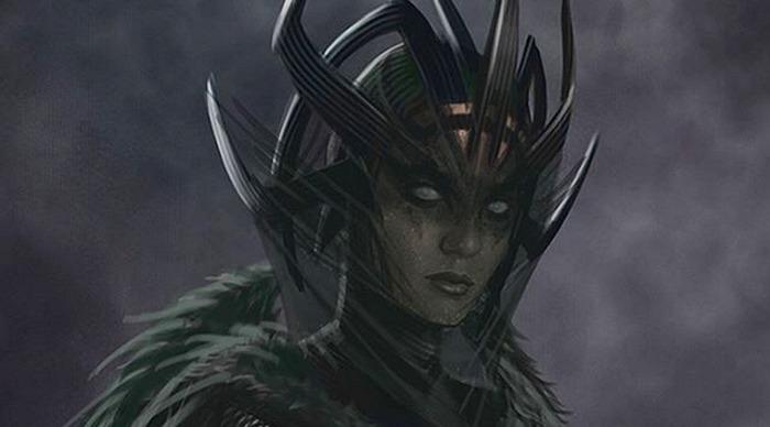 Thor: Ragnarok - Hela Concept Art