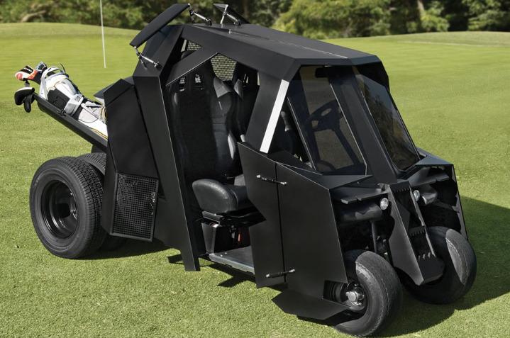 Batman Begins Tumbler Golf Cart