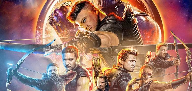 Avengers: Infinity War - Hawkeye Poster