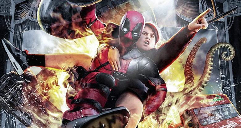 Deadpool 2 Boss Logic Poster