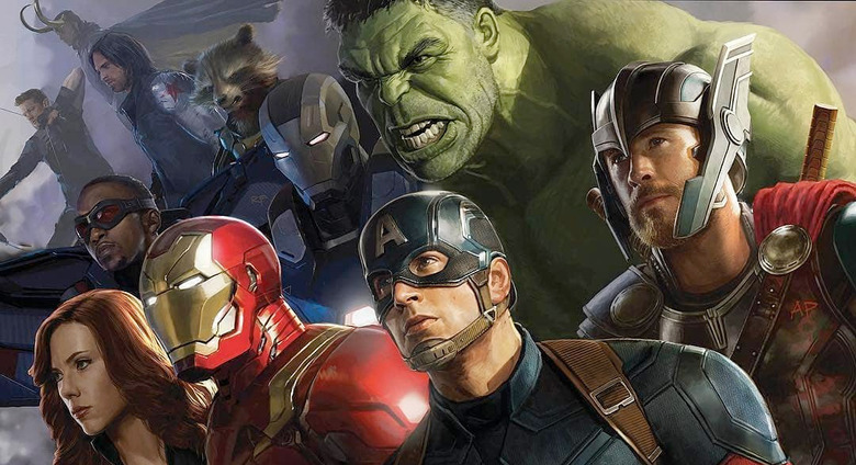 Road to Avengers: Infinity War Book