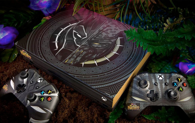 Black Panther Xbox One X