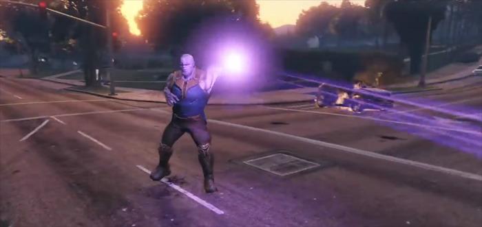 Grand Theft Auto V - Thanos