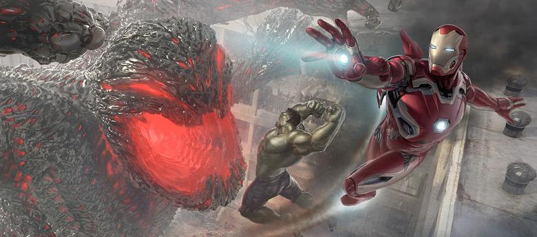 Avengers Age of Ultron Concept Art - Mega Ultron