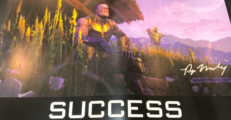 Thanos Motivational Poster