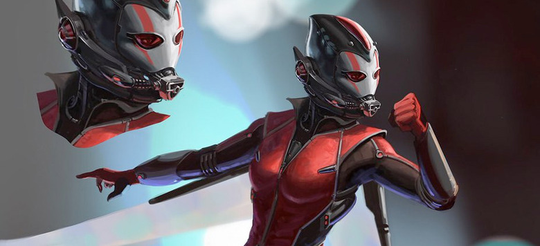 Ant-Man and the Wasp - Wasp Concept Art