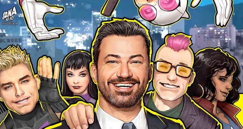 West Coast Avengers - Jimmy Kimmel