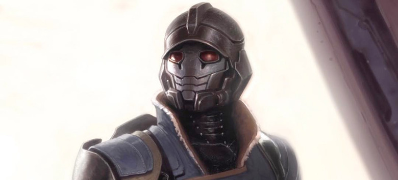 Guardians of the Galaxy Concept Art - Star-Lord