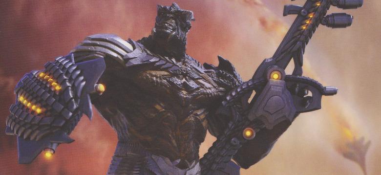 Avengers Infinity War - Cull Obsidian Concept Art