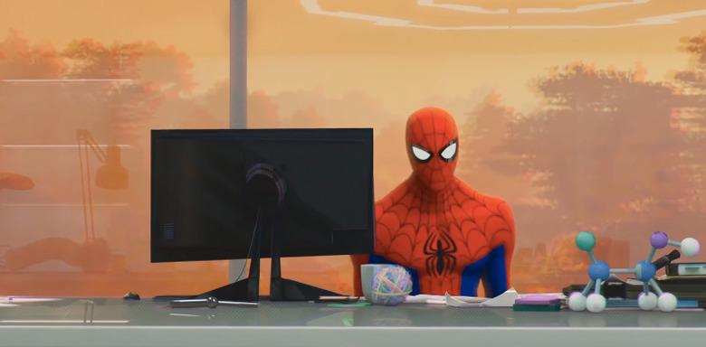 Spider-Man Into the Spider-Verse Shot