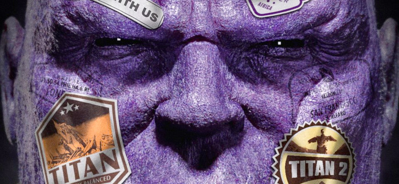 Thanos Far From Home Poster