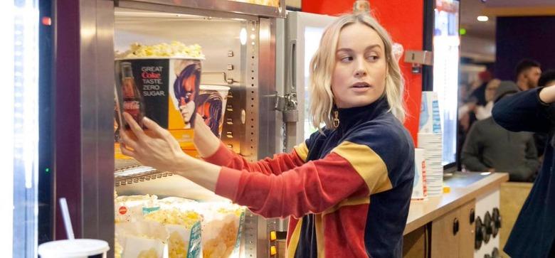 Brie Larsons Surprises Captain Marvel Screenings