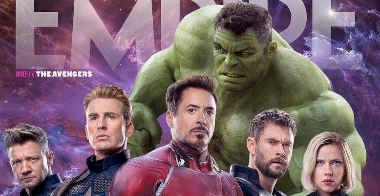 Avengers Endgame Empire Cover