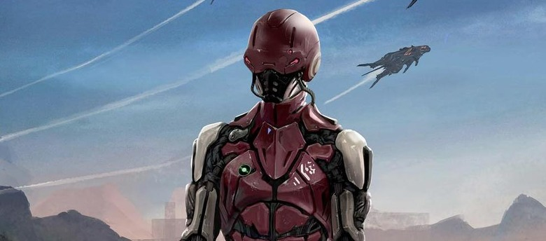 Captain Marvel Concept Art - Carol Danvers, Kree Pilot