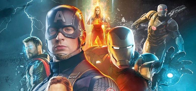 Boss Logic Avengers Endgame Poster