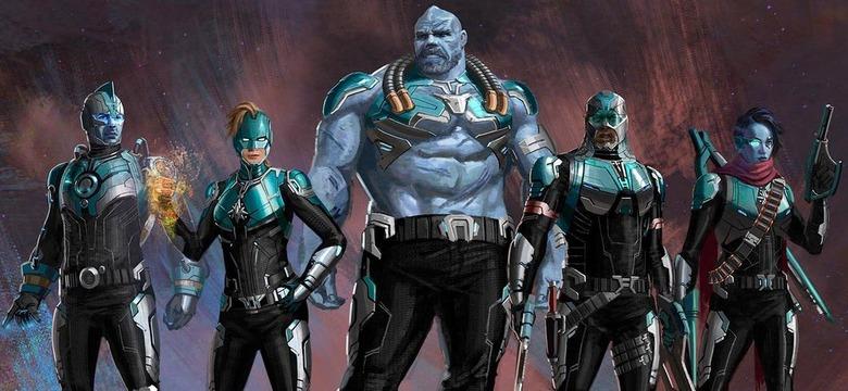 Captain Marvel Star Force Concept Art - Jackson Sze