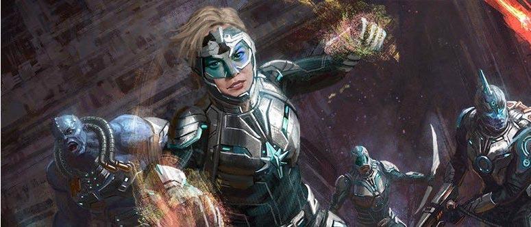 Captain Marvel Star Force Concept Art