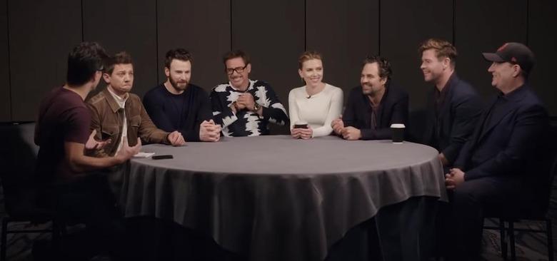 Avengers Endgame Roundtable