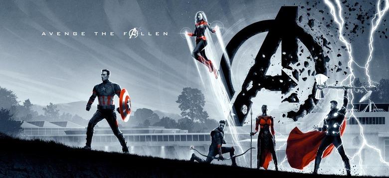 Avengers Endgame - Matt Ferguson Poster