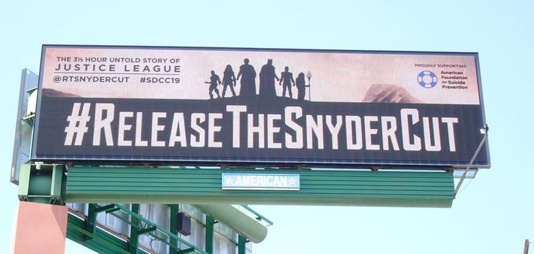Justice League - Snyder Cut Billboard