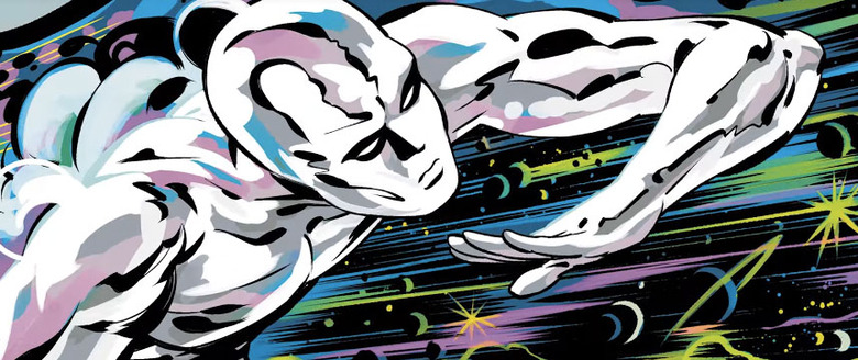 History of the Marvel Universe - Silver Surfer