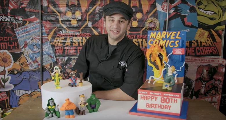 Cake Boss Marvel Cakes