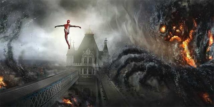 Spider-Man Far From Home Concept Art