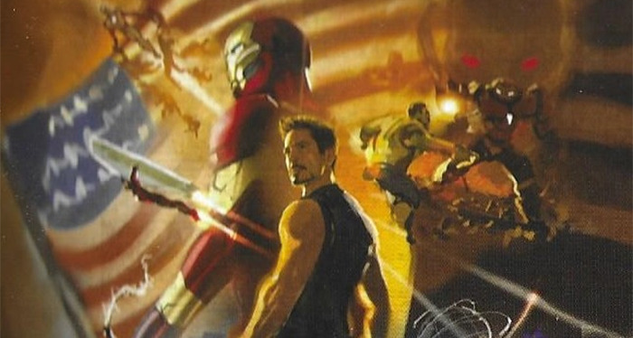 Spider-Man: Far From Home - Alternate Iron Man Mural