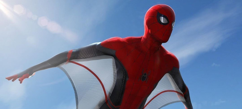 Spider-Man: Far From Home Webwings Concept Art