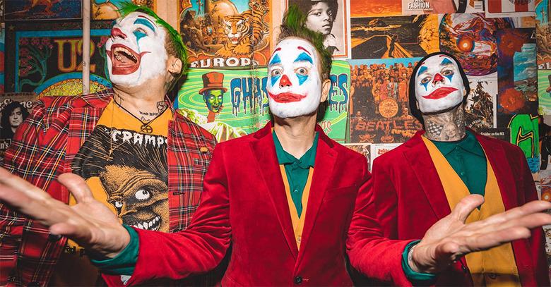 Blink 182 as Joker