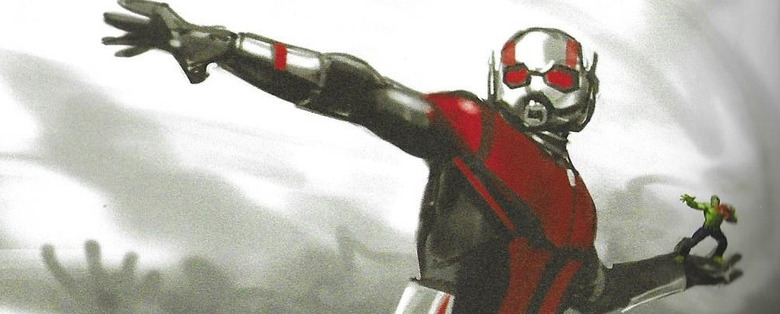 Avengers: Endgame Concept Art - Giant Man Throwing Hulk