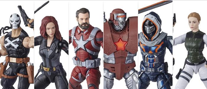 Black Widow - Marvel Legends Figures