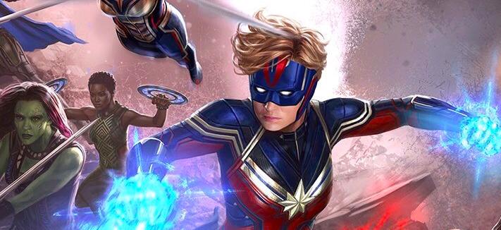 Avengers: Endgame - Alternate Captain Marvel Design