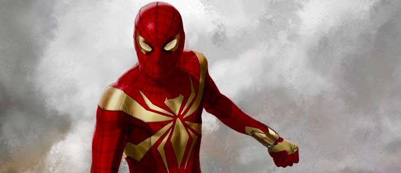 Avengers: Infinity War - Iron Spider Concept Art
