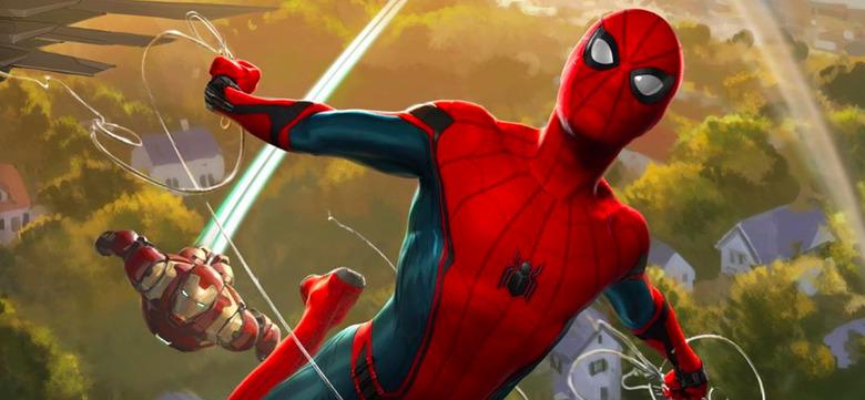 Spider-Man Homecoming Steelbook Art