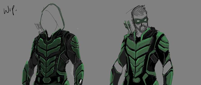 Arrow - Final Suit Concept Art