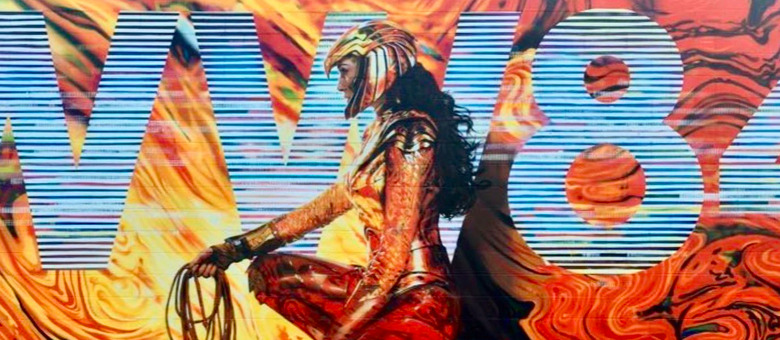 Wonder Woman 1984 - Gold Armor Statue