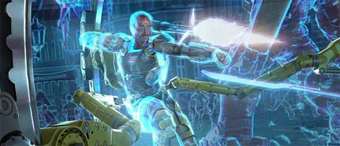 Avengers: Infinity War - Remote War Machine Concept Art