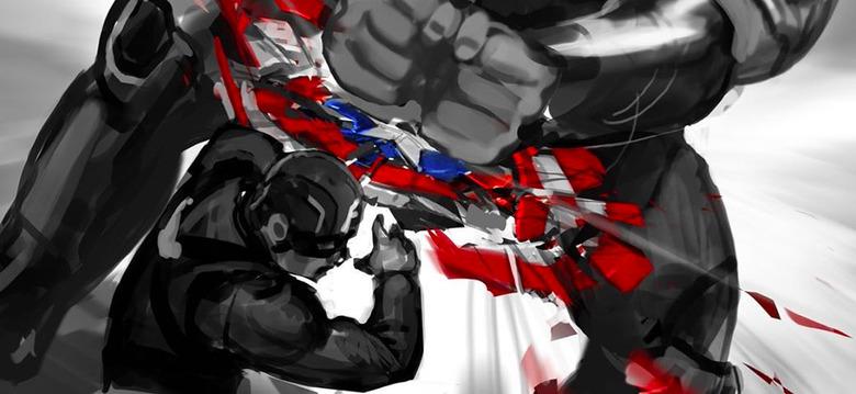 Avengers Endgame - Concept Art Shield Smash