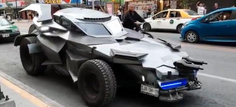 Batmobile in Mexico