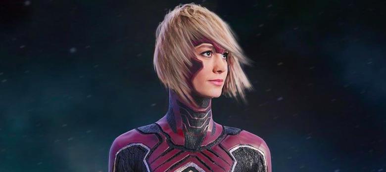 Captain Marvel Alternate Design