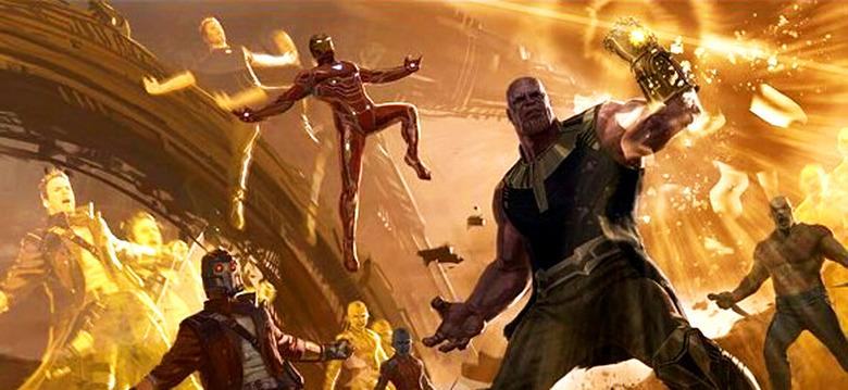 Avengers Endgame Concept Art - Thanos Stealing Souls