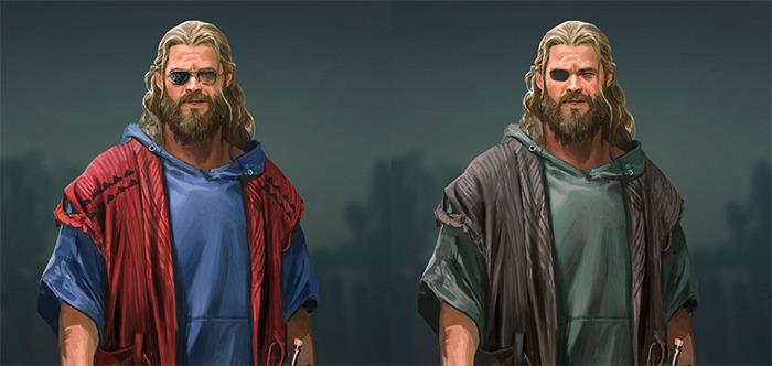 Avengers: Endgame - Bro Thor Concept Art