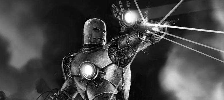 Iron Man Mark 1 Concept Art