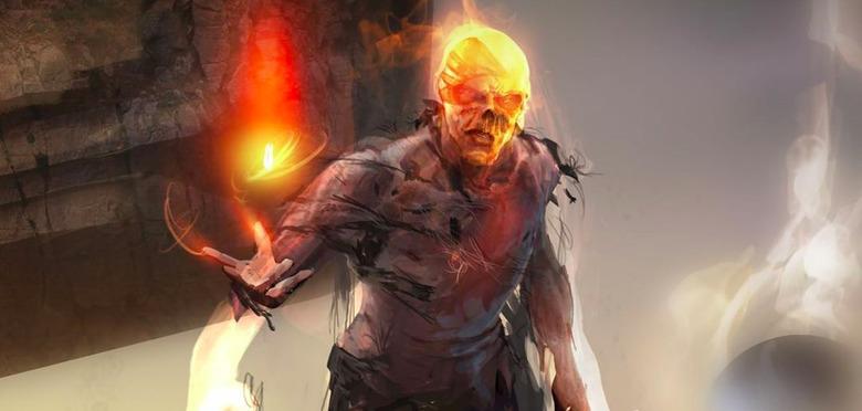 Avengers: Infinity War - Red Skull Concept Art