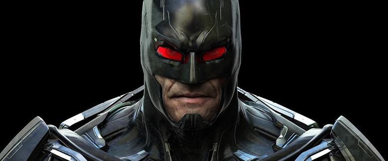 Batman Video Game Concept Art - Jerad S. Marantz