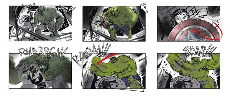 Marvel's Avengers Storyboards