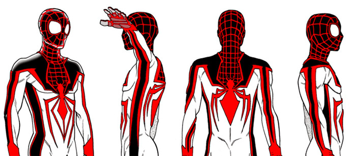 Spider-Man: Miles Morales - TRACK Suit Art