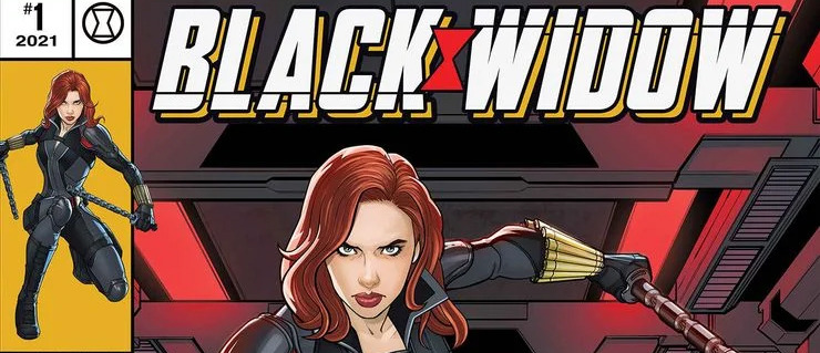 Black Widow Variant Cover Front Page